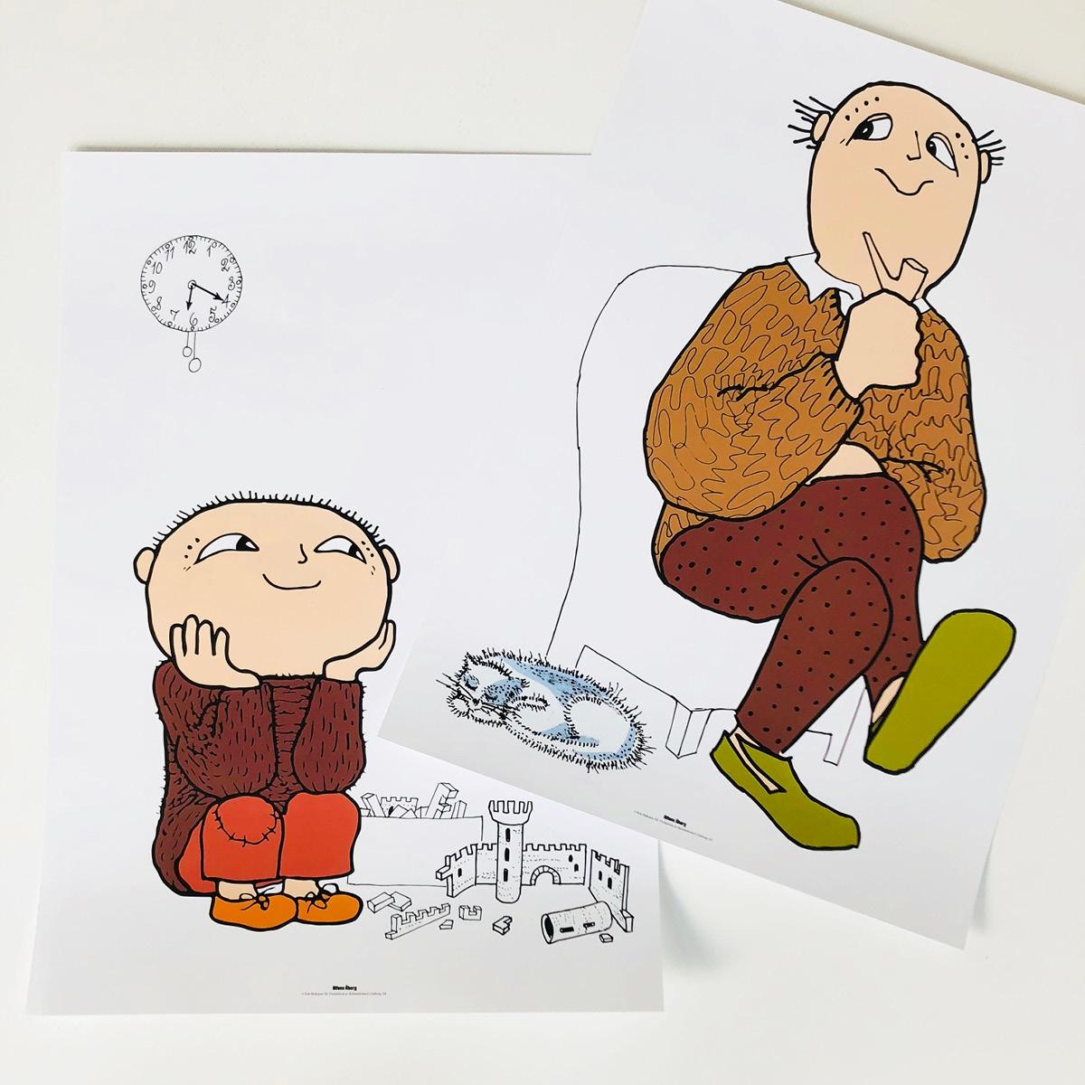 Alfons åberg og far