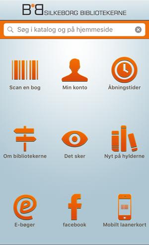 Hent vores app til Silkeborg Bibliotekerne