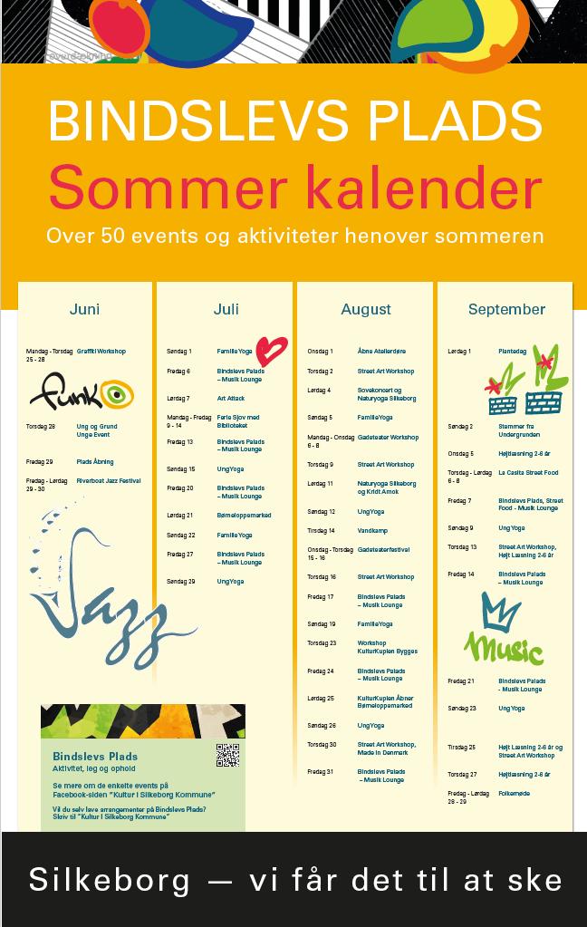 Sommerkalender for Bindslevs Plads