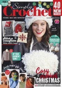 Forsiden af bladet Simply Crochet