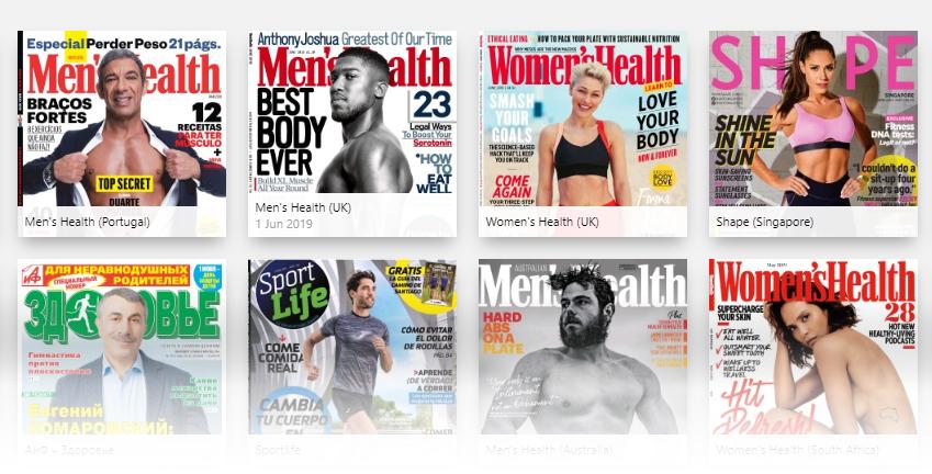 Sundhedsmagasiner fra Press Reader