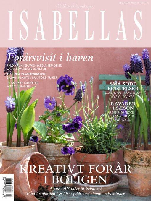 Forsiden af bladet ISABELLAS nr. 2/2021