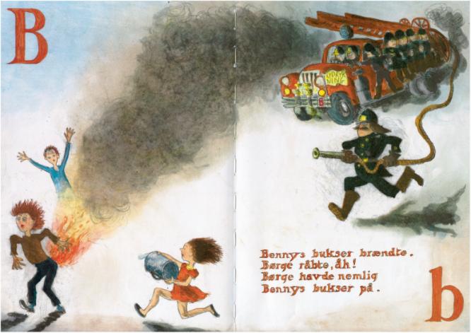 Bennys bukser brændte