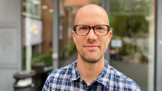 Billede af medarbejder Mads Einar Nielsen