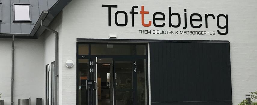 Toftebjerg - Them bibliotek & medborgerhus