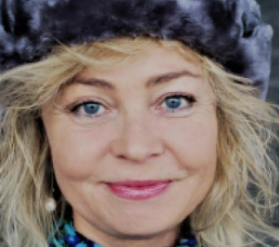 Portræt af Annette Bjergfeldt
