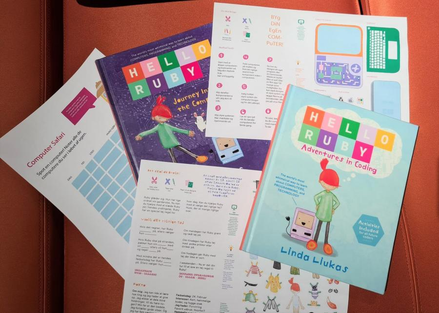 Hello Ruby bøger og krea aktivitet