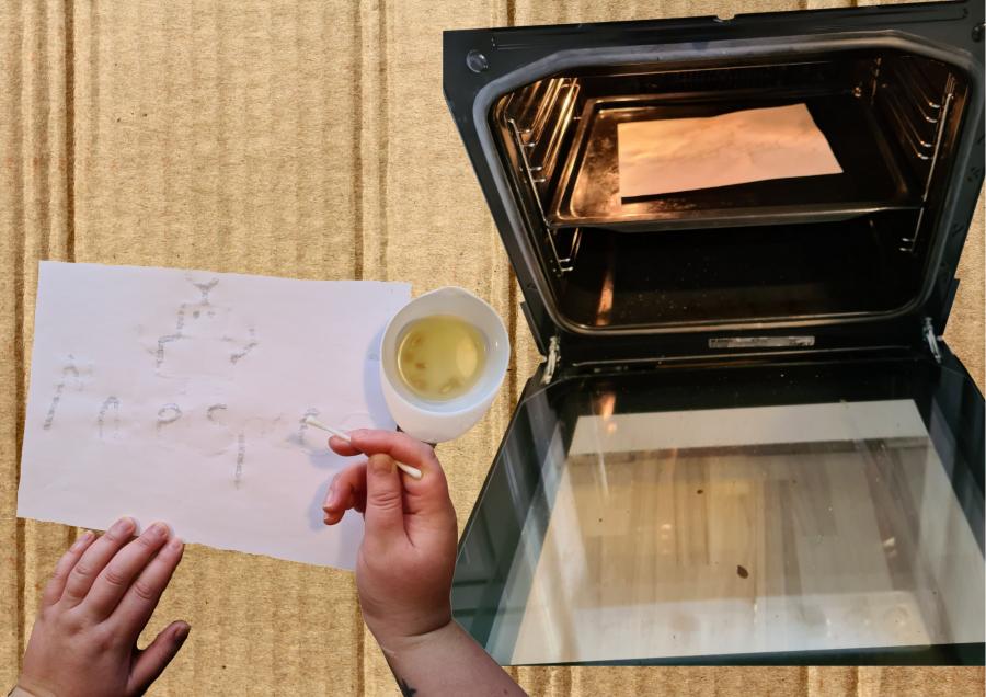 Tegn og sæt i ovn