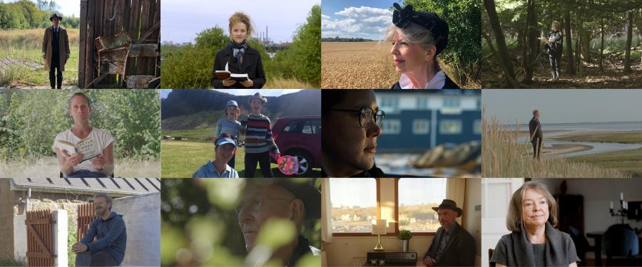 12 portrætter af danske forfattere