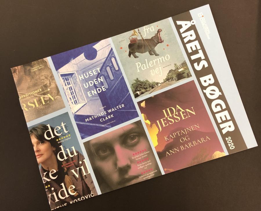 Folder med årets bøger