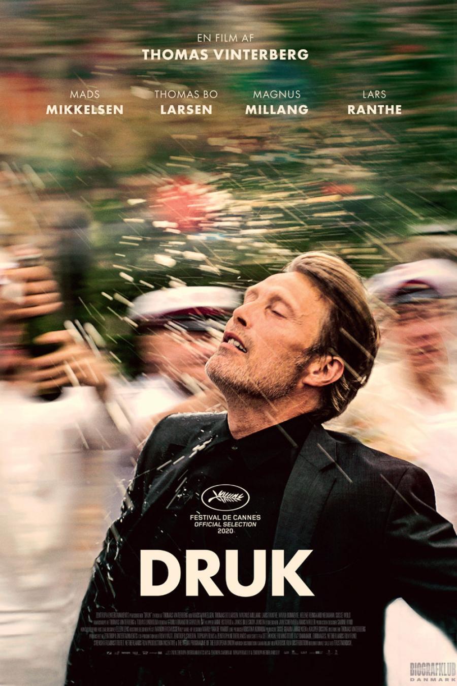 plakat fra filmen Druk