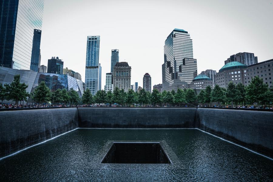 foto af Ground Zero i New York
