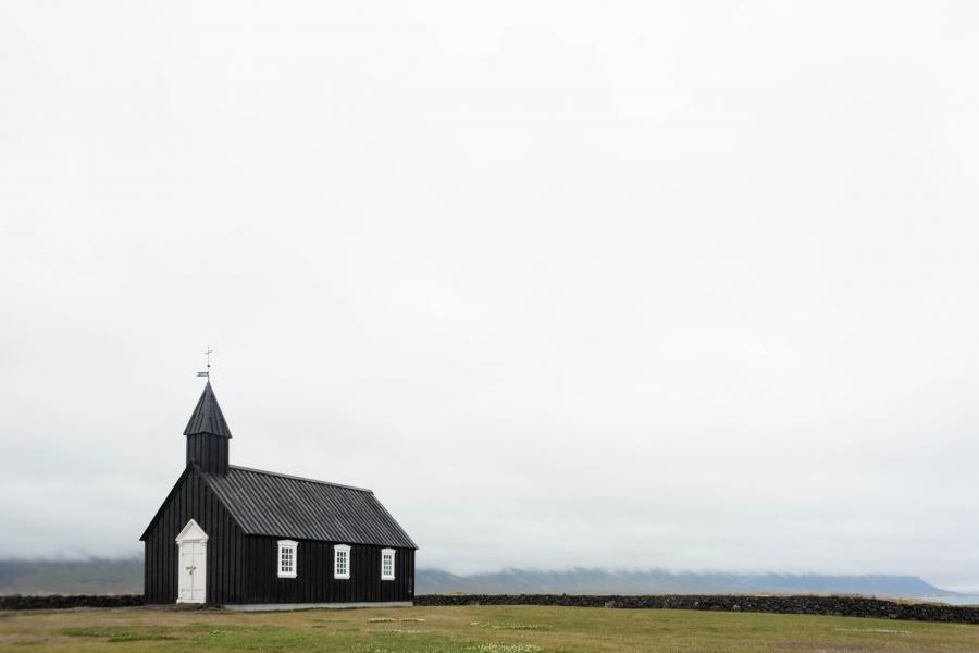 Foto af kirke