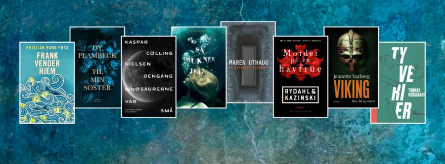 8 ud af de 10 nominerede bøger kan lånes på eReolen.