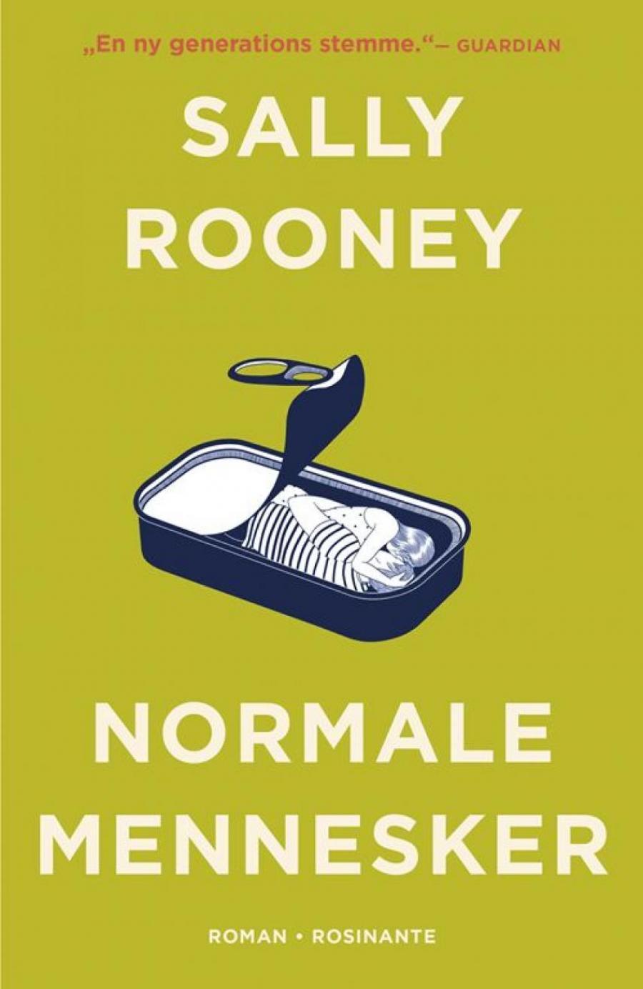 Forsidebillede af bogen Normale mennesker af Sally Rooney