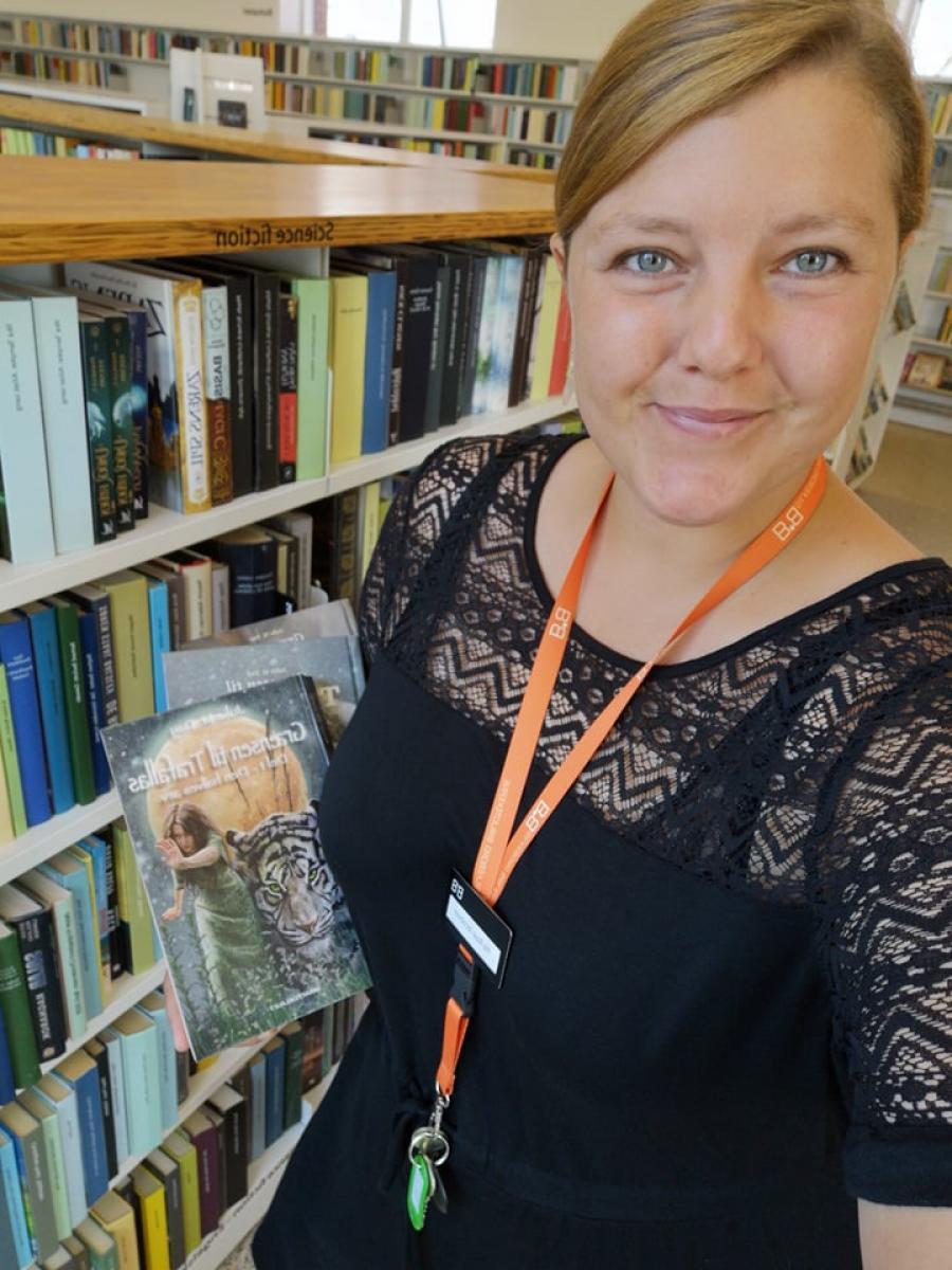 Pia Rask Jacobsen fra Silkeborg Bibliotekerne