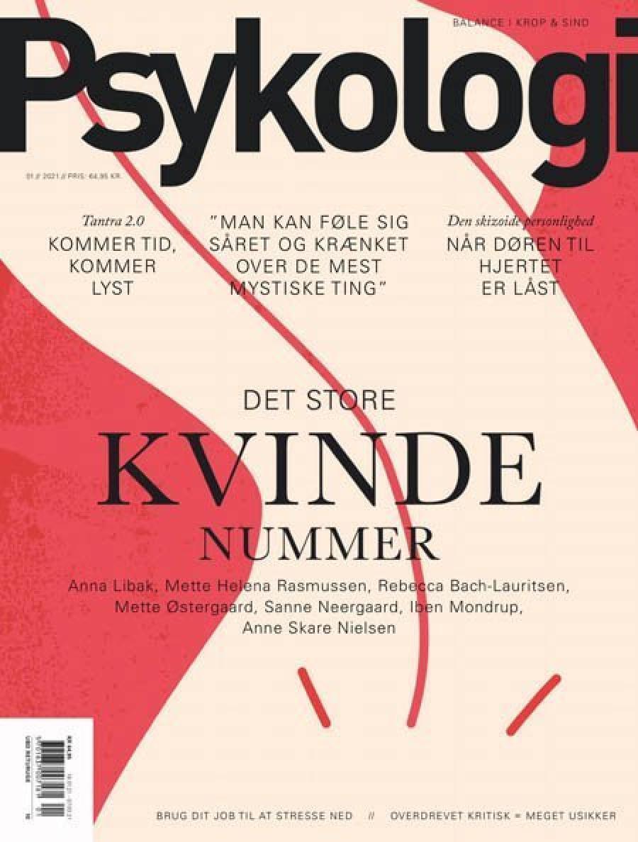 forsiden af bladet psykologi nr. 1, 2021