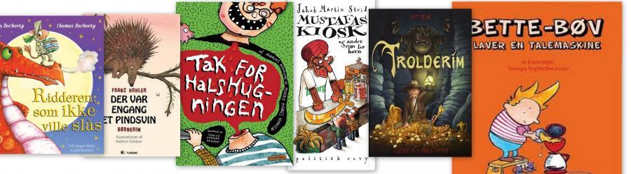 Rimeligt grinagtige, gode og gyselige rimbøger til dit børnehaveklassebarn