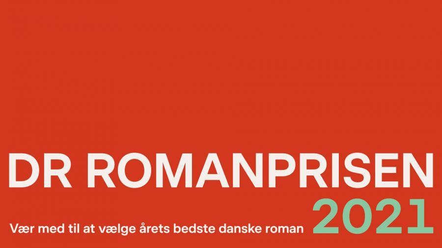 Logo for DR Romanprisen 2021