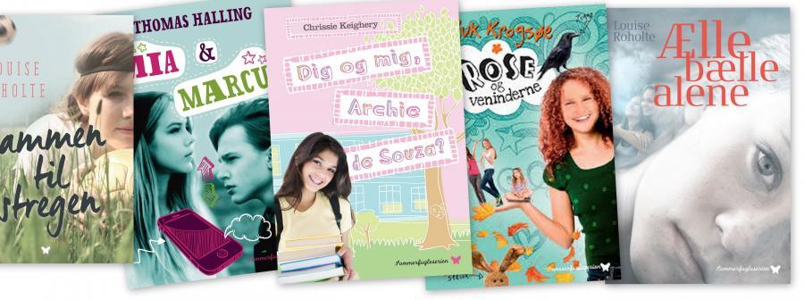 De bedste bøger til piger mellem 9 og11 år fra Sommerfugleserien