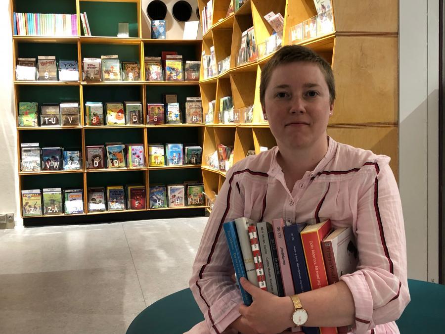 Katrine fra Silkeborg Bibliotekerne