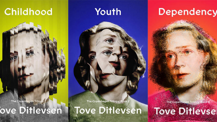 3 forsider fra Tove Ditlevsens bøger